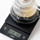HARIO waga do kawy CZARNA