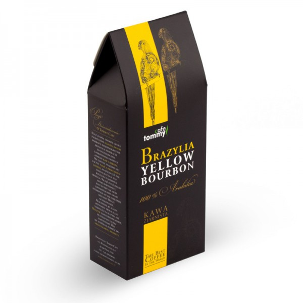 Kawa Brazylia Yellow Bourbon BOX ziarnista
