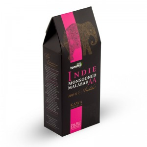 Kawa Indie Monsooned Malabar AA BOX ziarnista