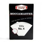 TECHNIFORM filtry papierowe nr 4 MOCCAMASTER 100szt.