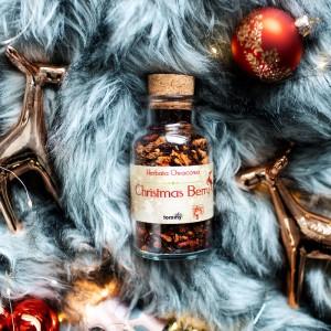 Herbata owocowa Christmas Berry w butelce