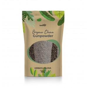 Herbata zielona China Gunpowder Organic