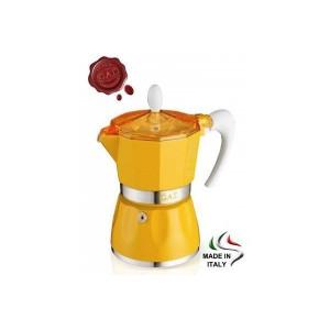 Kawiarka G.A.T Bella 1 filiż. żółta