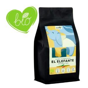 Kawa ziarnista bio EL ELEFANTE