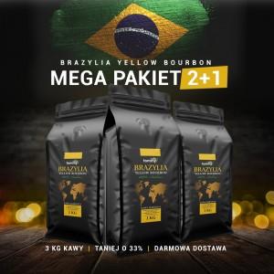 Kawa Brazylia Yellow Bourbon 2kg + 1gratis!