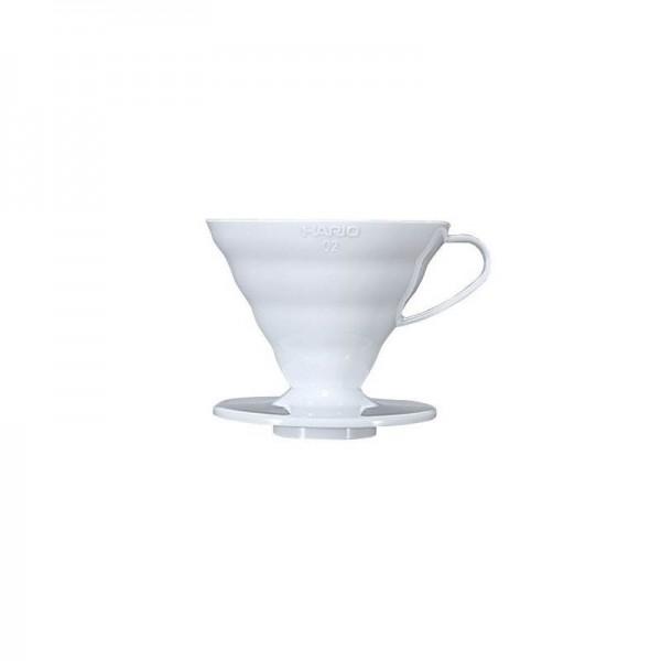 Hario ceramiczny Dripper na 2 filiż., biały