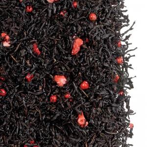 Herbata czarna smakowa Pieprzowa Truskawka