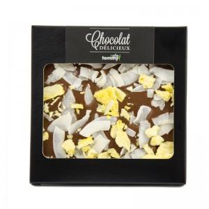 Czekolada gorzka 70% kakao z malinami i chilli