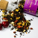 Herbata czarna smakowa Słońce Toskanii w butelce