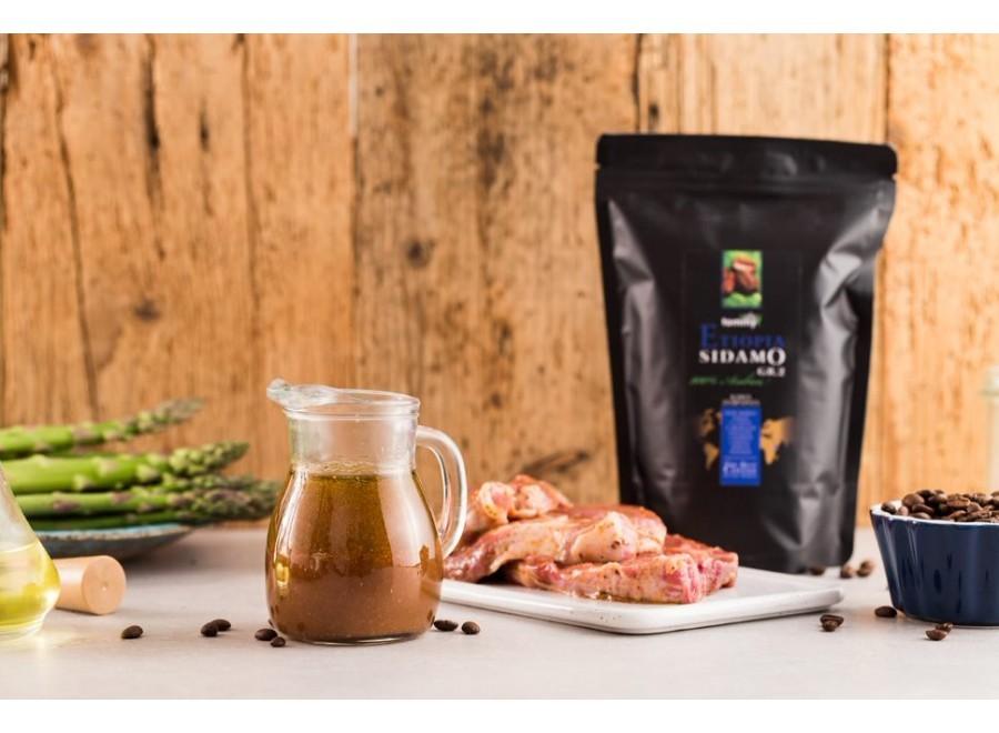 Kawowa marynata do mięsa na grilla