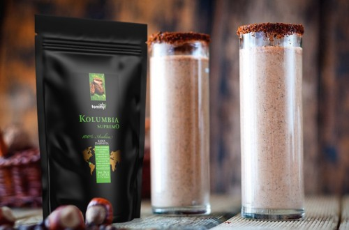 Energetyczne smoothie kawowe